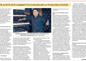 Debaditya Chaudhury: Success Story of Chowman