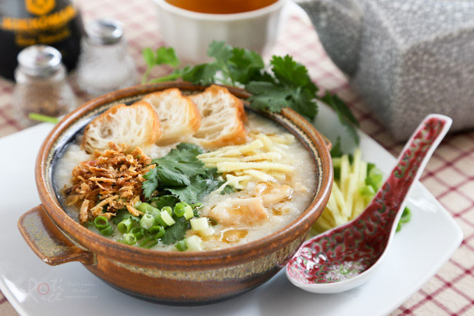 The Chinese Comfort Food Congee-Chowman
